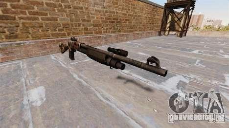 Ружьё Benelli M3 Super 90 zombies для GTA 4