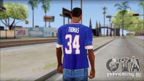 NY Buffalo Bills Blue для GTA San Andreas второй скриншот