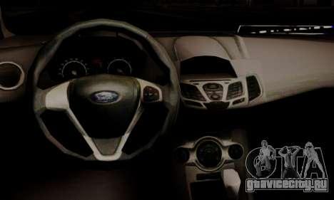 Ford Fiesta Turkey Drift Edition для GTA San Andreas вид справа