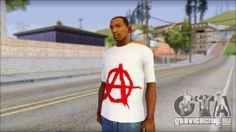 Anarchy T-Shirt v3 для GTA San Andreas