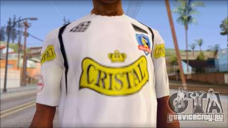 Colo Colo 09 T-Shirt для GTA San Andreas третий скриншот