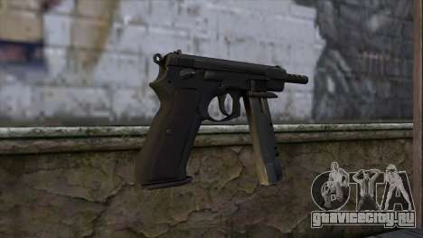 CZ75 from CS:GO v2 для GTA San Andreas второй скриншот