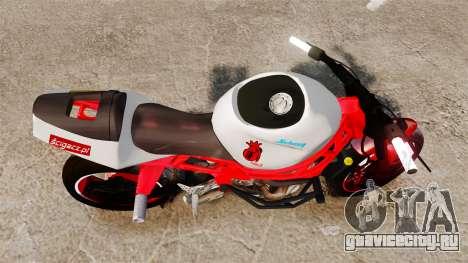 Kawasaki Ninja ZX6R Stunt для GTA 4 вид справа