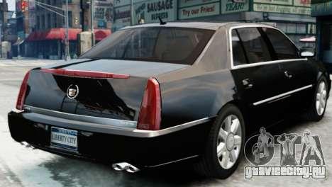 Cadillac DTS 2006 v1.0 для GTA 4 вид слева