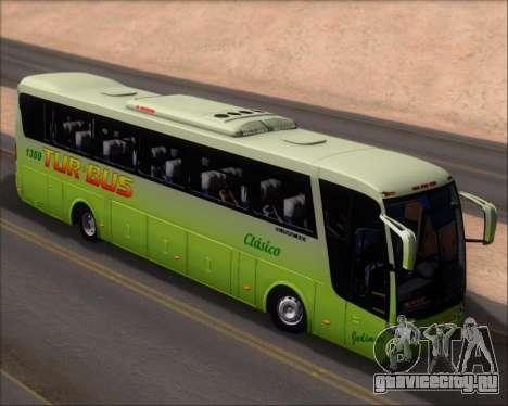 Busscar Vissta LO Scania K310 - Tur Bus для GTA San Andreas вид сзади