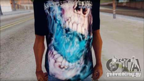 Avenged Sevenfold Nightmare Fan T-Shirt для GTA San Andreas третий скриншот