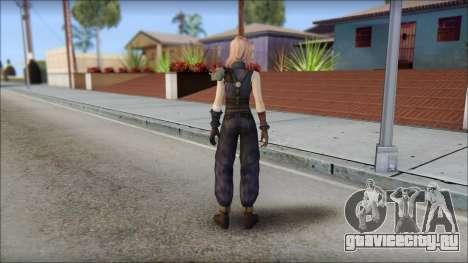 Final Fantasy XIII - Lightning Lowpoly для GTA San Andreas второй скриншот