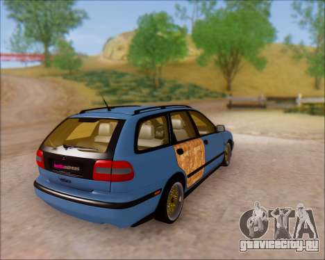 Volvo V40 для GTA San Andreas вид сзади слева