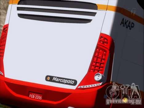 Marcopolo Paradiso 1200 Harapan Jaya для GTA San Andreas вид сверху