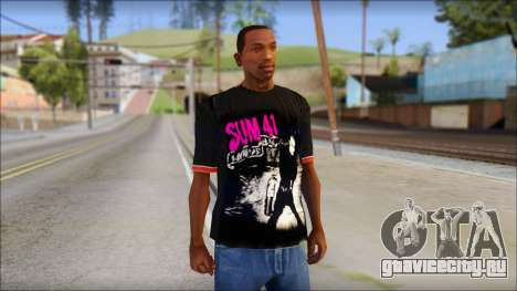 Sum 41 T-Shirt для GTA San Andreas