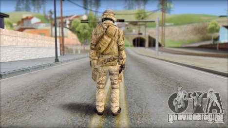 Desert SAS from Soldier Front 2 для GTA San Andreas второй скриншот