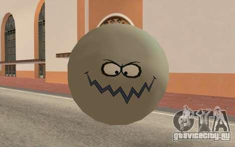 Грязный пузырик (Губка боб) для GTA San Andreas