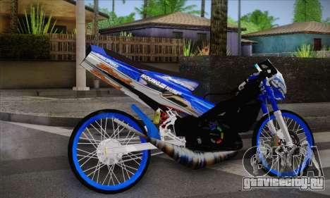 Honda Dash 2 tak для GTA San Andreas вид слева