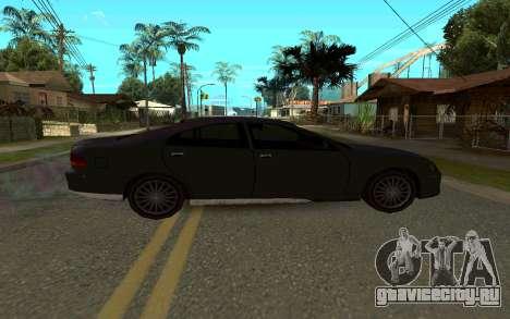 HSV VT GTS для GTA San Andreas вид сзади слева