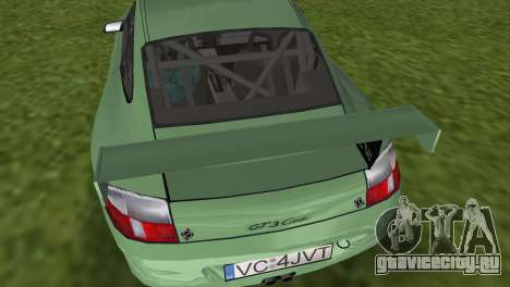 Porsche GT3 Cup 996 для GTA Vice City вид справа