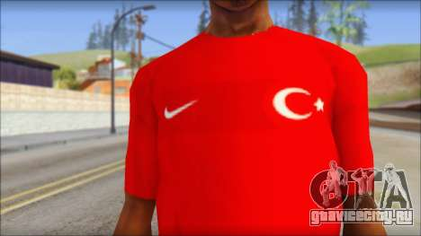 Turkish Football Uniform v4 для GTA San Andreas третий скриншот