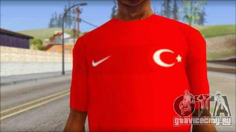 Turkish Football Uniform v4 для GTA San Andreas