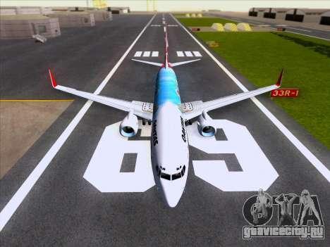 Boeing 737-800 Qantas для GTA San Andreas двигатель