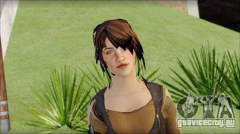 Rebecca для GTA San Andreas третий скриншот