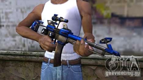CartBlue from CSO NST для GTA San Andreas третий скриншот