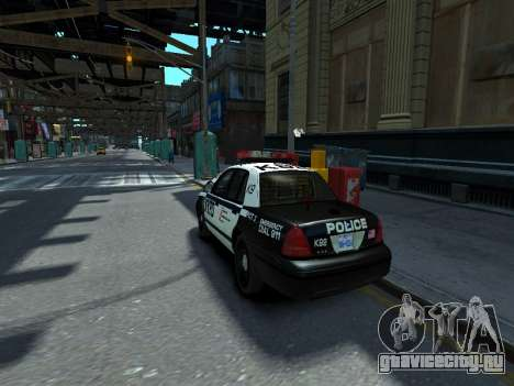 Ford Crown Victoria Police NYPD 2014 для GTA 4 вид слева