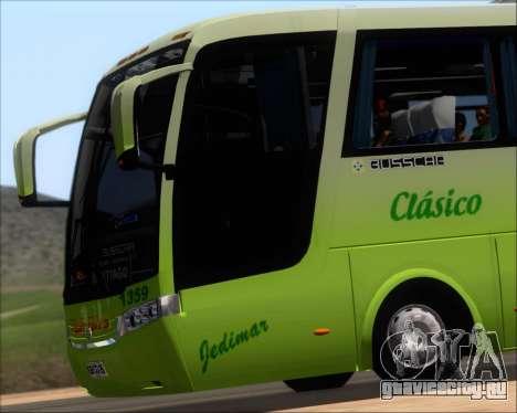 Busscar Vissta LO Scania K310 - Tur Bus для GTA San Andreas вид сверху
