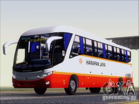 Marcopolo Paradiso 1200 Harapan Jaya для GTA San Andreas колёса