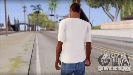 WWE Logo T-Shirt mod v1 для GTA San Andreas второй скриншот