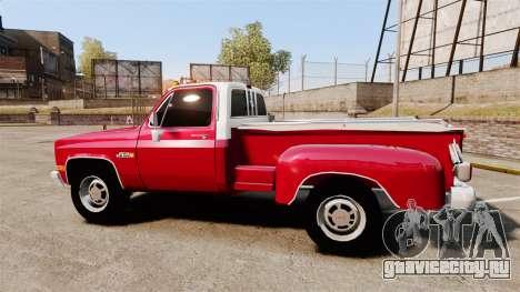 GMC 454 Pick-Up Up для GTA 4 вид слева