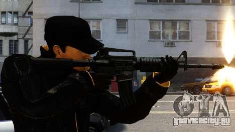 M4A1 для GTA 4 второй скриншот
