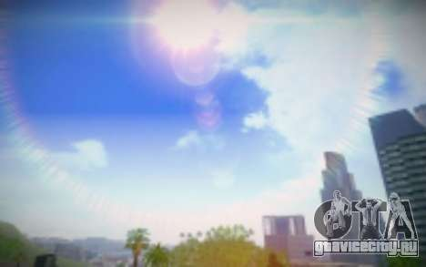 FIXED SkyBox Arrange - Real Clouds and Stars для GTA San Andreas четвёртый скриншот