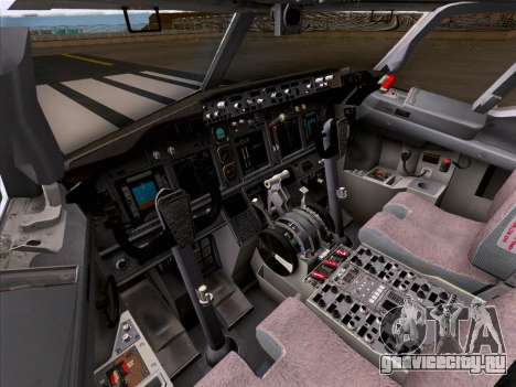 Boeing 737-800 Qantas для GTA San Andreas колёса