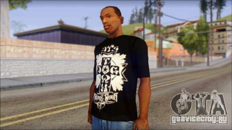 Tribal DOG Town T-Shirt Black для GTA San Andreas