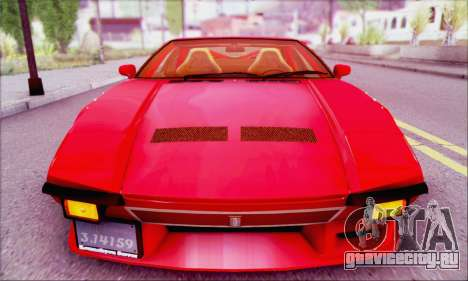 De Tomaso Pantera для GTA San Andreas вид справа