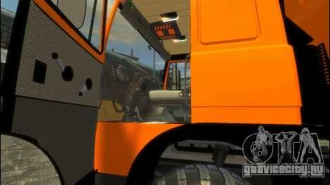 МАЗ 6317 для GTA 4 вид сзади