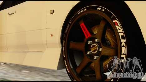 Nissan Skyline ER34 для GTA San Andreas вид сзади слева