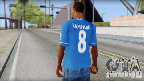 Chelsea FC 12-13 Home Jersey для GTA San Andreas второй скриншот