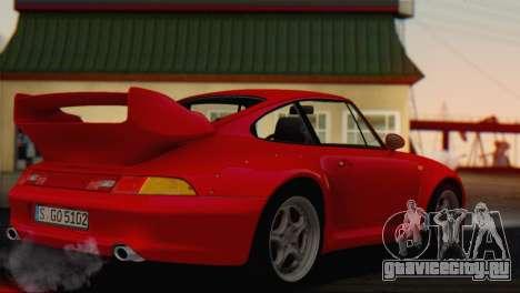 Porsche 911 GT2 (993) 1995 V1.0 EU Plate для GTA San Andreas вид слева