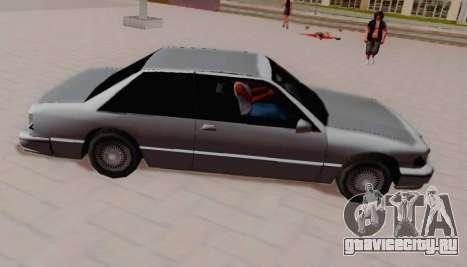 Premier Coupe для GTA San Andreas вид слева