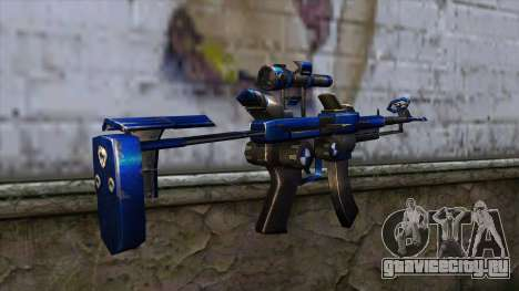 CartBlue from CSO NST для GTA San Andreas второй скриншот