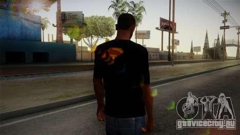 Man of Steel T-Shirt для GTA San Andreas второй скриншот