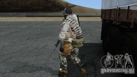 Army Ghost v1 для GTA San Andreas второй скриншот