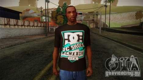 DC Shoes USA T-Shirt для GTA San Andreas