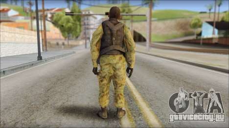 Afganistan Forces для GTA San Andreas второй скриншот