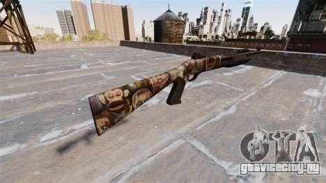 Ружьё Benelli M3 Super 90 zombies для GTA 4 второй скриншот
