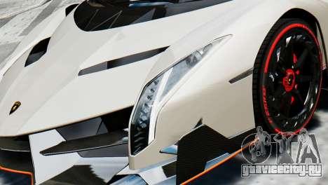 Lamborghini Veneno 2013 для GTA 4 вид справа