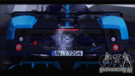 Pagani Zonda UNO для GTA San Andreas вид изнутри