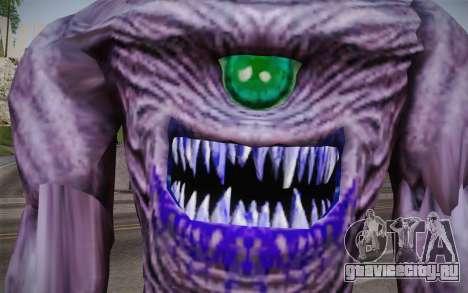 Gnaar from Serious Sam для GTA San Andreas третий скриншот