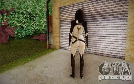 Miranda from Mass Effect 2 для GTA San Andreas второй скриншот