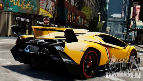 Lamborghini Veneno 2013 для GTA 4 вид слева